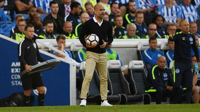 Guardiola Belum Puas dengan Lini Serang Man City