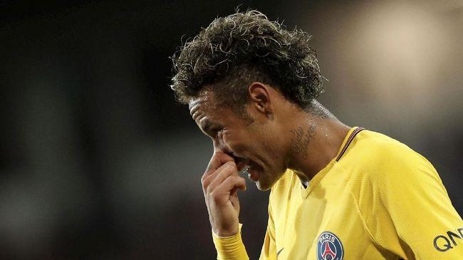 Neymar Takut Kembali ke Lapangan