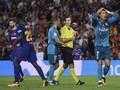 Pose Santai Ronaldo Usai Insiden Kartu Merah