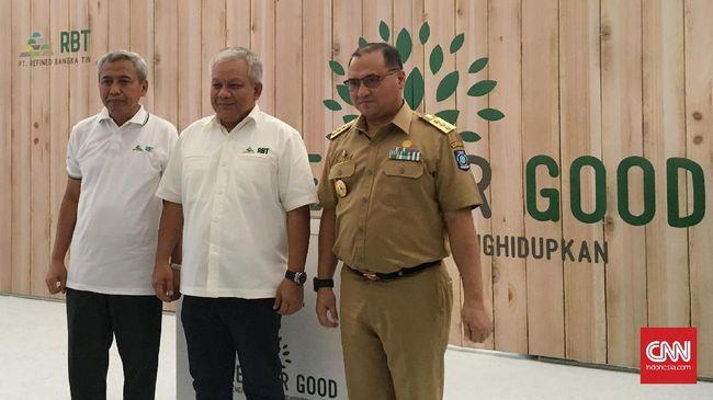 Refined Bangka Tin Mulai Reklamasi Berkelanjutan 50 Hektare