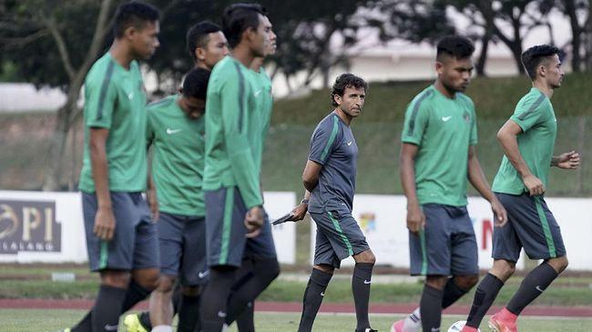 Satu Pemain Absen Latihan Timnas Indonesia U-23