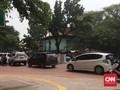 Trotoar Percontohan di Blok M Dilengkapi Area Parkir