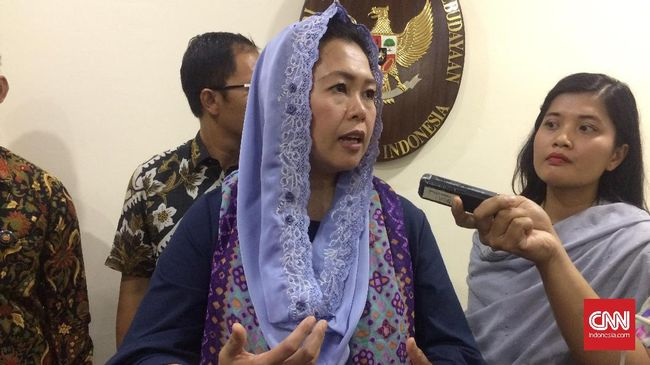 Yenny Wahid Jadi Opsi Gerindra di Pilgub Jawa Timur