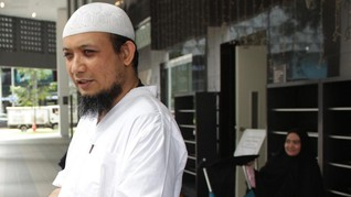 Pimpinan KPK Jemput Novel Baswedan di Bandara
