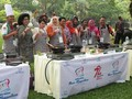 Jokowi Cicipi Masakan Koki Juara Masak Ikan