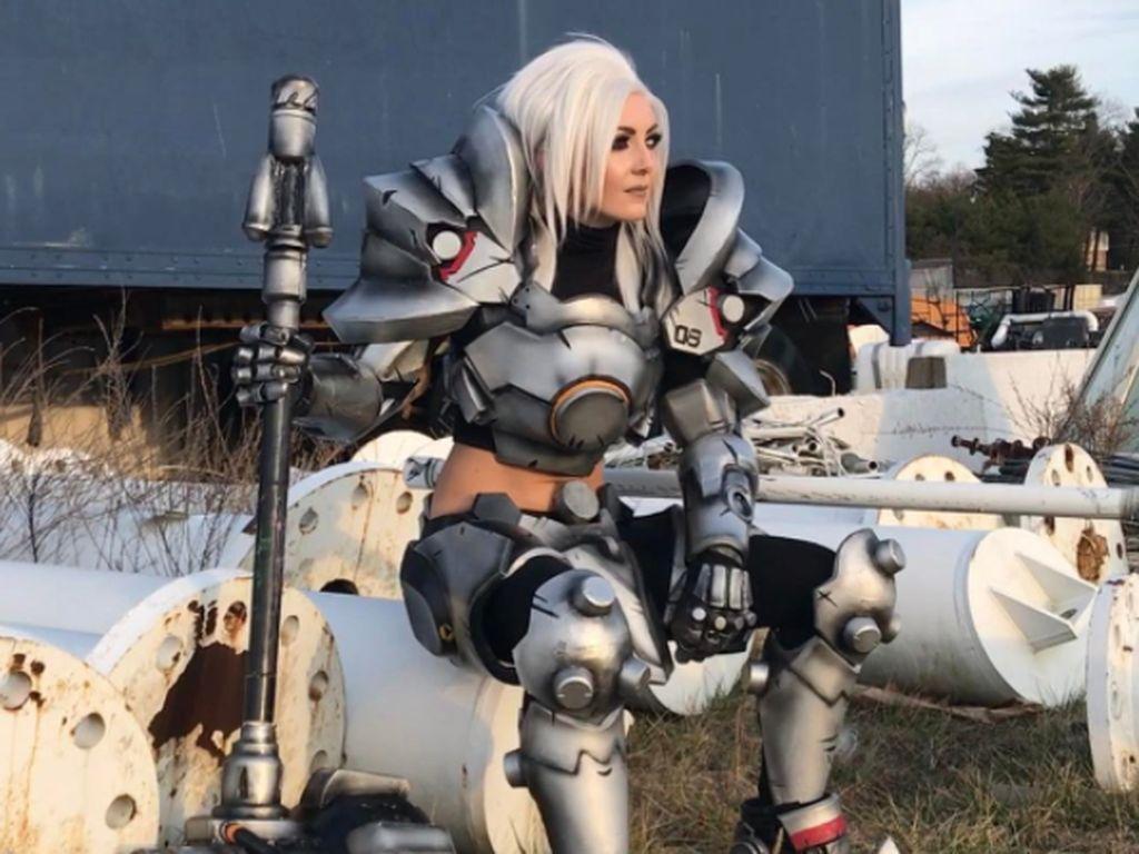 Sejak saat itu, dia secara teratur menghadiri festival cosplay dengan berbagai karakter permainan kostum. Foto: Instagram Jessica Nigri