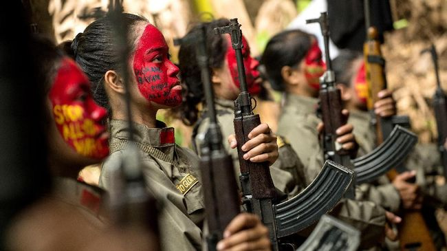 Baku Tembak, 6 Pemberontak Komunis Perempuan Filipina Tewas