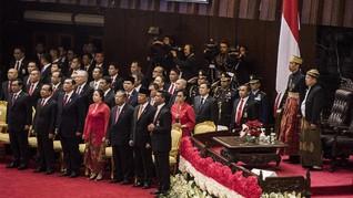 Ada 7 Menteri Kabinet Kerja Raih Bintang Bhayangkara