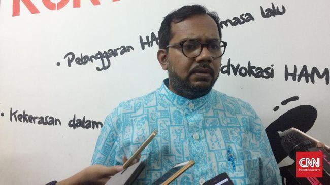 Haris Azhar Sebut Jokowi dan Prabowo Sama-sama Langgar HAM