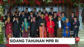 'Parade Pakaian Adat' dalam Sidang Tahunan MPR