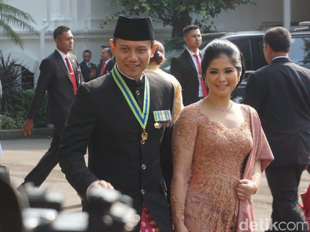 Di antara yang paling menarik perhatian adalah pasangan Agus Yudhyono dan Annisa Pohan. Foto: Bagus Prihantoro/detikcom