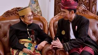 Jokowi Jenguk BJ Habibie: Beliau Kecapaian, Tapi Sudah Baik