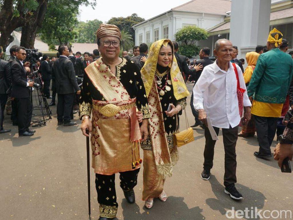 Ini Oesman Sapta dan istri. Foto: Bagus Prihantoro Nugroho/detikcom