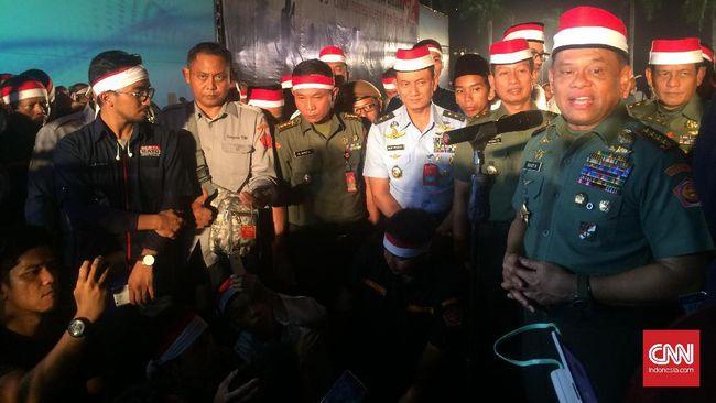 Panglima TNI Ziarah ke Timor Leste Usai dari Makam Soeharto