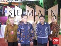 Resmikan Simpang Susun Semanggi, Jokowi Puji Ahok-Djarot