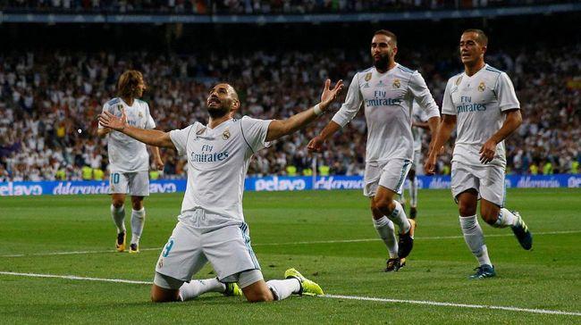 Zidane Masih Percaya pada Benzema