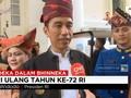 Jokowi Menjawab Alasan Memakai Baju Adat