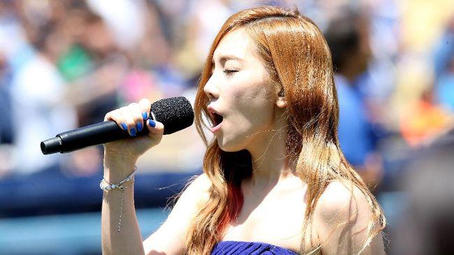 Taeyeon Nyanyikan Lagu Film 'Frozen 2' versi Korea