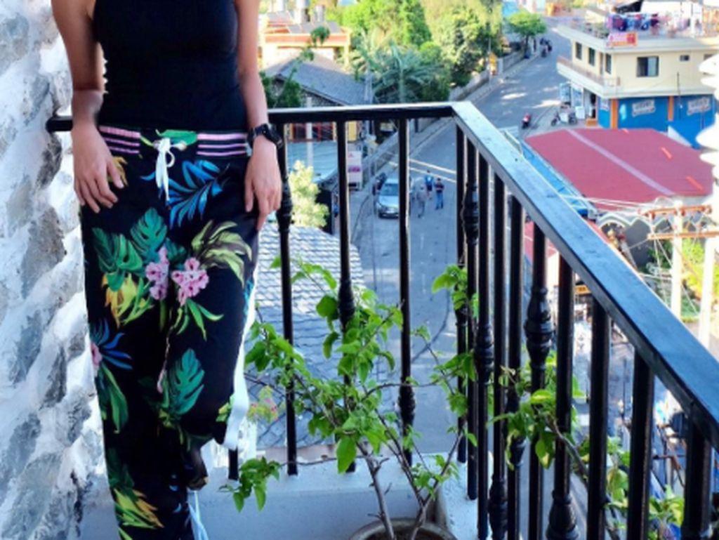 Ini saat gadis berusia 27 tahun itu berwisata. Foto: Instagram