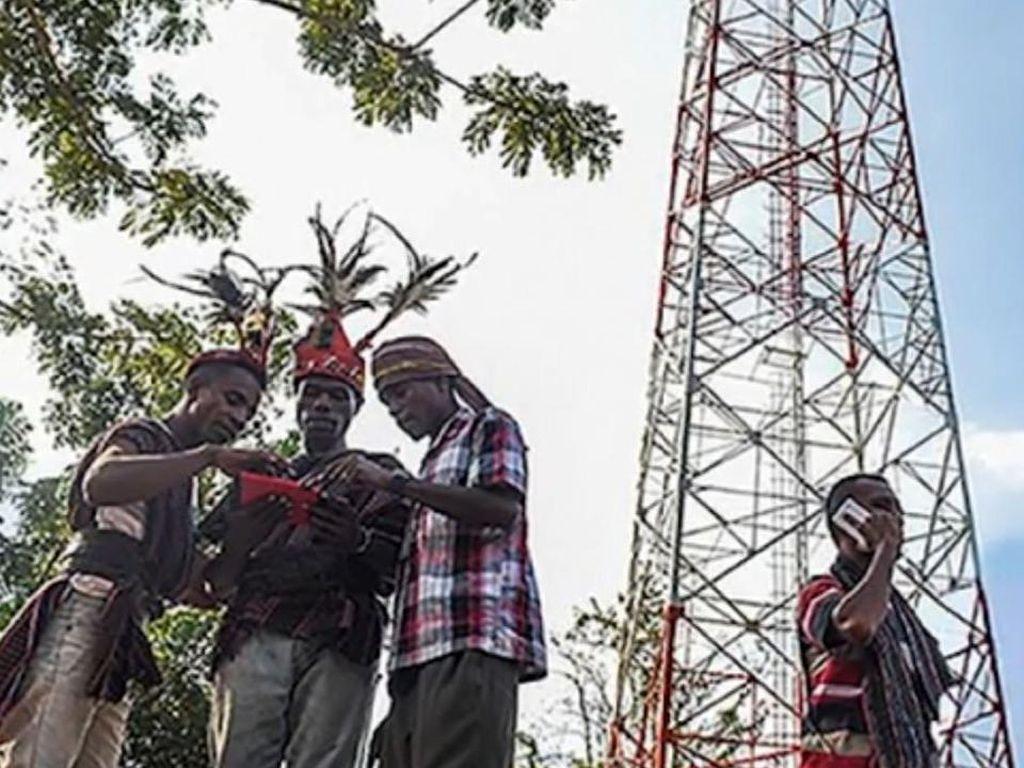 Kominfo lewat Badan Aksesibilitas Telekomunikasi dan informatika (BAKTI) berencana mendirikan 5.000 BTS di daerah pelosok. (Foto: BAKTI/Kominfo)