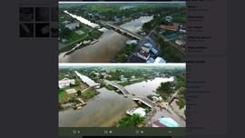 Baru Dua Tahun, Jembatan Tanipah di Kalsel Ambruk