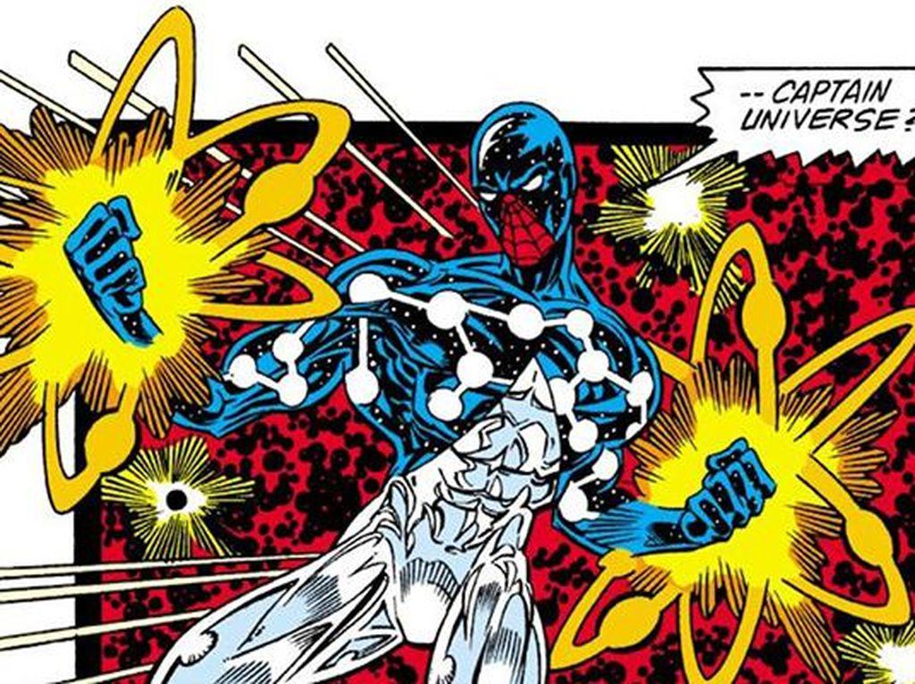 Kostum ini muncul ketika Spider-Man dimanfaatkan oleh sebuah kekuatan bernama Uni-Power. Kostum ini dibuat pada tahun 1989. Foto: istimewa