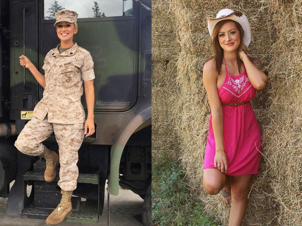 Foto: Tak Disangka, 13 Wanita Cantik dan Seksi Ini Pernah Jadi Tentara
