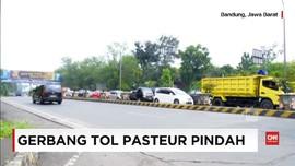 VIDEO: Gerbang Tol Pasteur Dipindahkan Akhir 2017