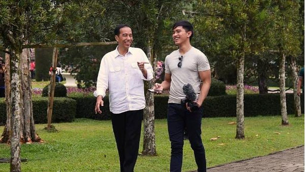 Foto: Lengan Berotot Kaesang Pangarep Putra Presiden Jokowi