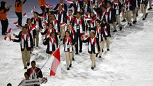 Siman Jadi Pembawa Bendera Indonesia di Asian Games 2018