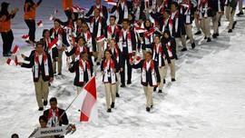 Siman Jadi Pembawa Bendera Indonesia di Asian Games 2018