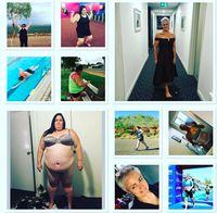 Dan sekarang, ia tengah menjalani program latihan untuk mengikuti lomba serupa akhir tahun ini. (Foto: Instagram @elles_journey_to_good_health)