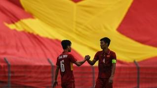 Kejutan, Timnas Vietnam Lolos ke Final Piala Asia U-23