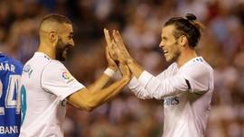 Zidane Tetap Percaya Bale dan Benzema