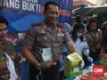 BNN Musnahkan Sabu Selundupan Oknum Polisi