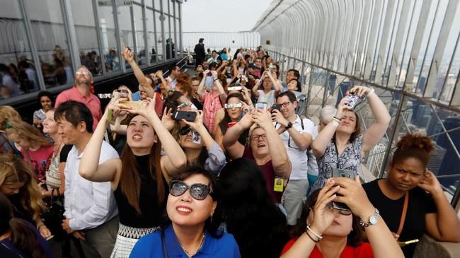 Gerhana kali ini diperkirakan menjadi gerhana yang paling banyak difoto. diamati, dan dipelajari. Sebab, ini adalah gerhana matahari total pertama yang melewati Amerika di era media sosial.