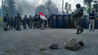 Pesawat Dimonim Ditembak Saat Mendarat di Bandara Keyam Papua