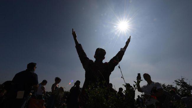 Sundogs, Fenomena Empat Matahari di Kepulauan Riau