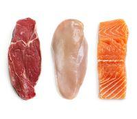 Daging rendah lemak seperti pada ikan dan ayam adalah yang terbaik bagi penderita maag dan asam lambung naik. Kandungan protein daging ikan dan ayam akan membantu mengurangi asam lambung berlebih, selama tidak digoreng. Foto: Thinkstock