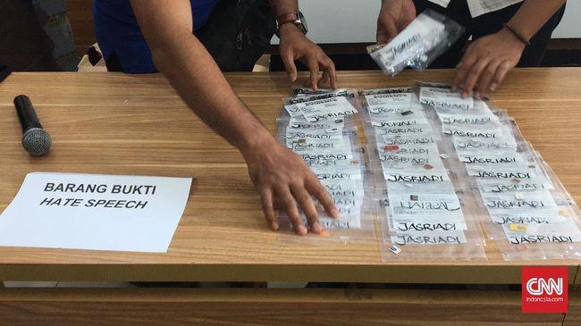 Polri Kirim Ulang Berkas Kasus Saracen ke Kejaksaan