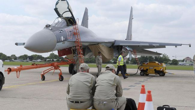 Pembelian 11 Sukhoi dari Rusia Tunggu Perjanjian Imbal Dagang
