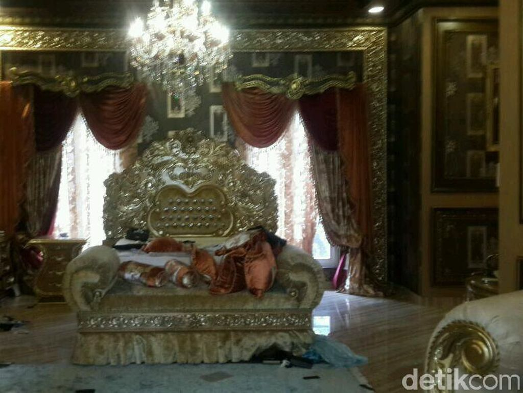 Interior rumah mewah bos first travel.Foto: Dok. Istimewa