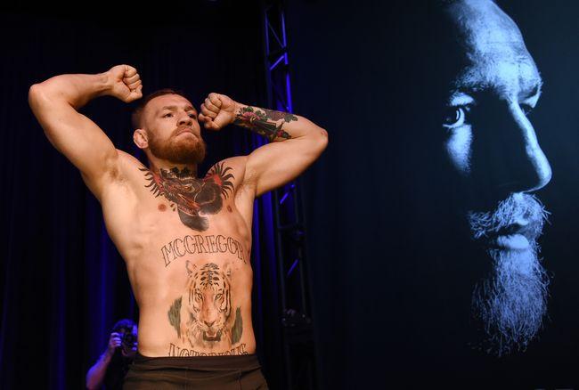Karena McGregor adalah Ali