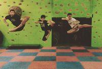 Mantan atlet silat ini juga masih rutin latihan bela diri. (Foto: instagram/@iko.uwais)