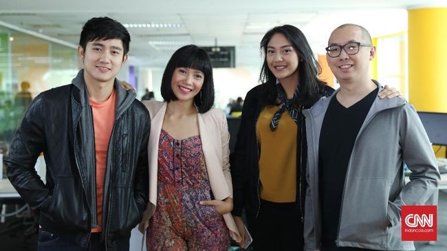 Siswa-siswa Telanjang Kaki di Film Pendek 'Kinetik'