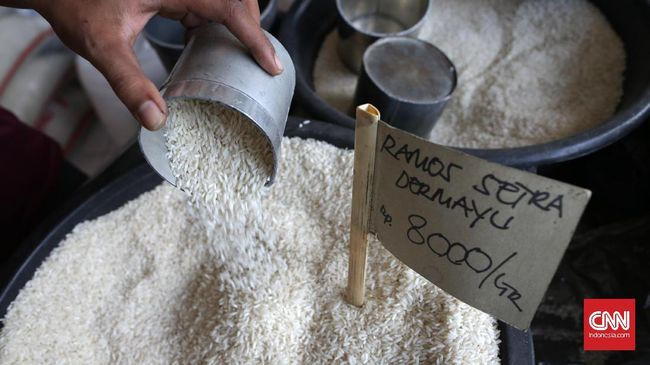 Besok, Pedagang Pasar Tradisional Wajib Jual Beras Bulog