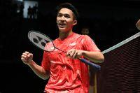 Pemuda berusia 19 tahun ini lahir di Jakarta pada tahun 1997. Meski masih muda, Jonatan Christie sudah memiliki banyak prestasi. Foto: dok. Humas PBSI