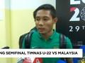 VIDEO: Tekad Evan Dimas Jangan Kalah dari Malaysia