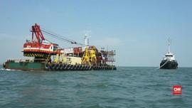 Mengintip Proyek Pengerukan Pelabuhan Tanjung Mas