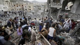 Koalisi Saudi Serang Penjara di Yaman, 100 Orang Tewas